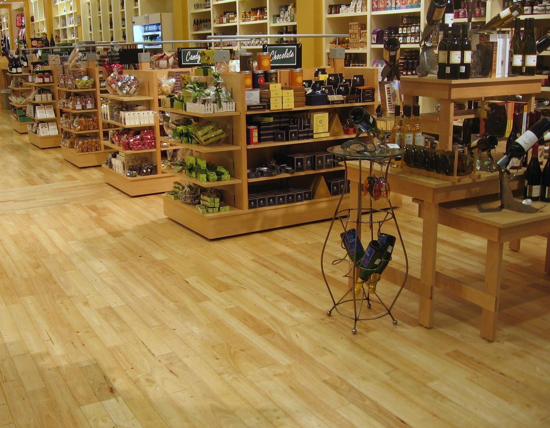 Rubber Wood Plank Parquet Flooring