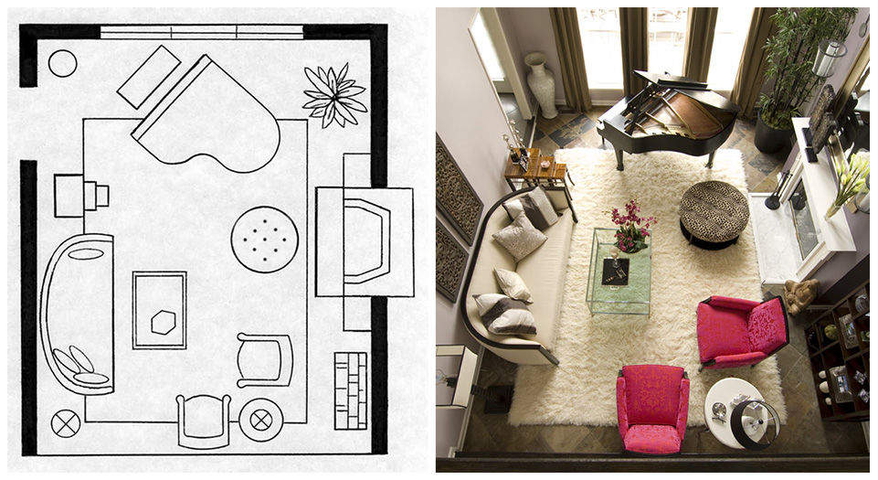 space planning of layouts with optimal function and exquisite style