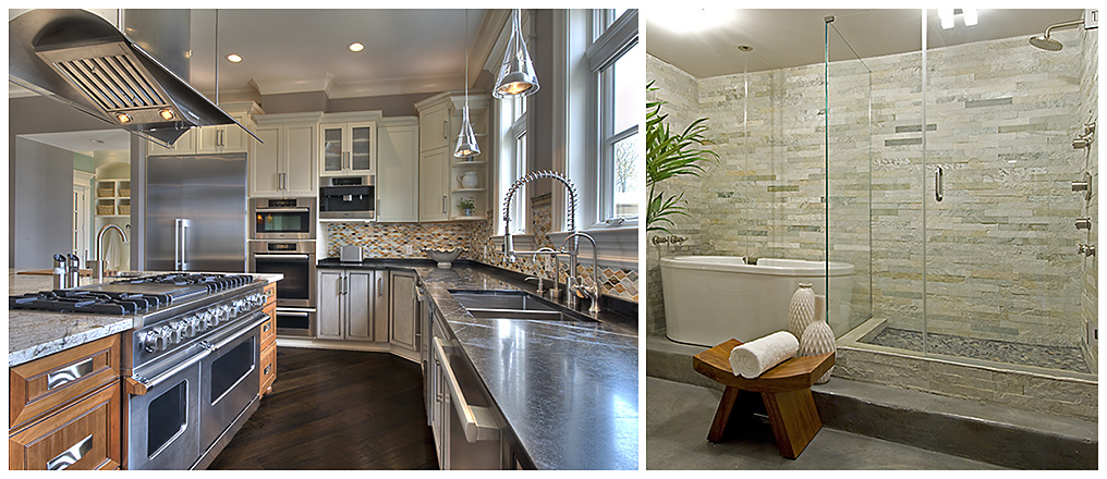 design and remodeling of kitchens and baths