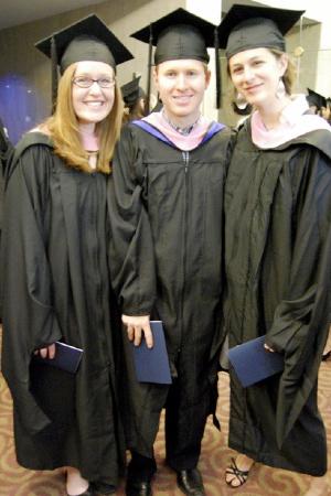 Jennifer Bewerse, Justin Dougherty, and Mckenna Longacre