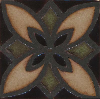 Seville Deco - MR-129  Malaga Color Palette - black line