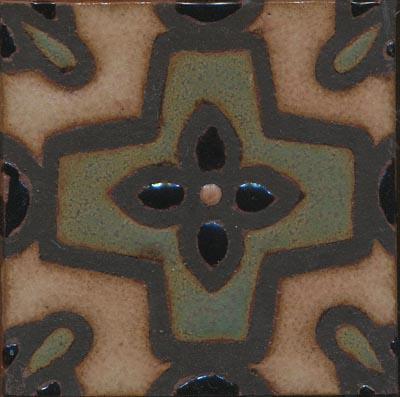 Romanian Deco 4x4 - MR-240  Tavira Color Palette  Comes in 3x3 and 4x4