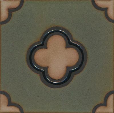 MR-263 5-Clover Deco  Tavira Color Palette - black line  Comes in 6x6 and 8x8