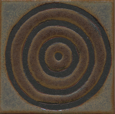 Kimono Circle  Celine (discontinued, limited amount left, please inquire) + Cast Iron - black line  Comes in 4x4, 6x6, 8x8