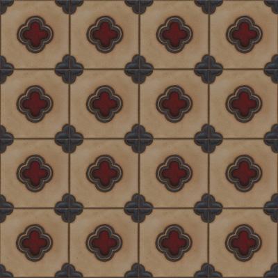 5-Clover deco in Dafi Color Palette - Repeat
