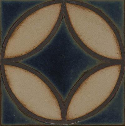 Filigree Deco in Iznik Color Palette  Comes in 3x3, 4x4, 6x6 and 8x8
