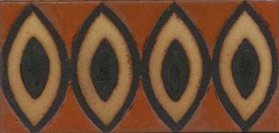 Seed Border  Bakelite Color Palette
