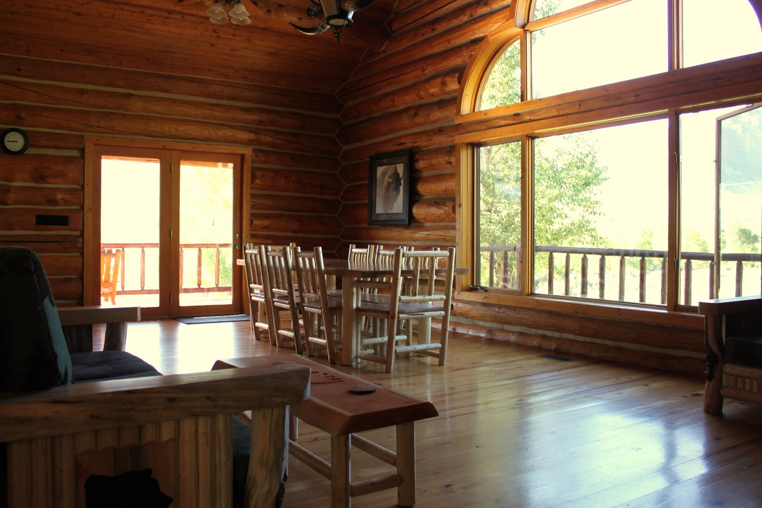 "Ranch cabins - kitchen - ""…smartly appointed…"" Google Reviews - October 2017"