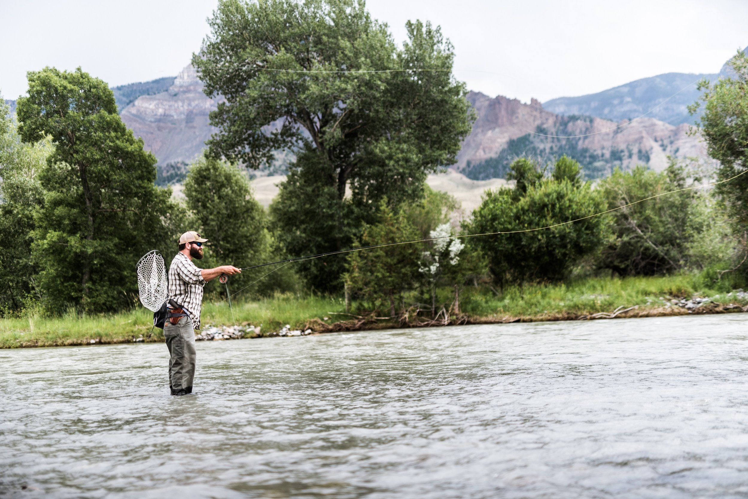 rates* - A half-day guided fly fishing trip for two anglers is $225. Add one angler for an additional $25.A full-day guided fly fishing trip for two anglers is $350. Add one angler for an additional $50.*a bagged lunch can be provided upon request  for $10 per person
