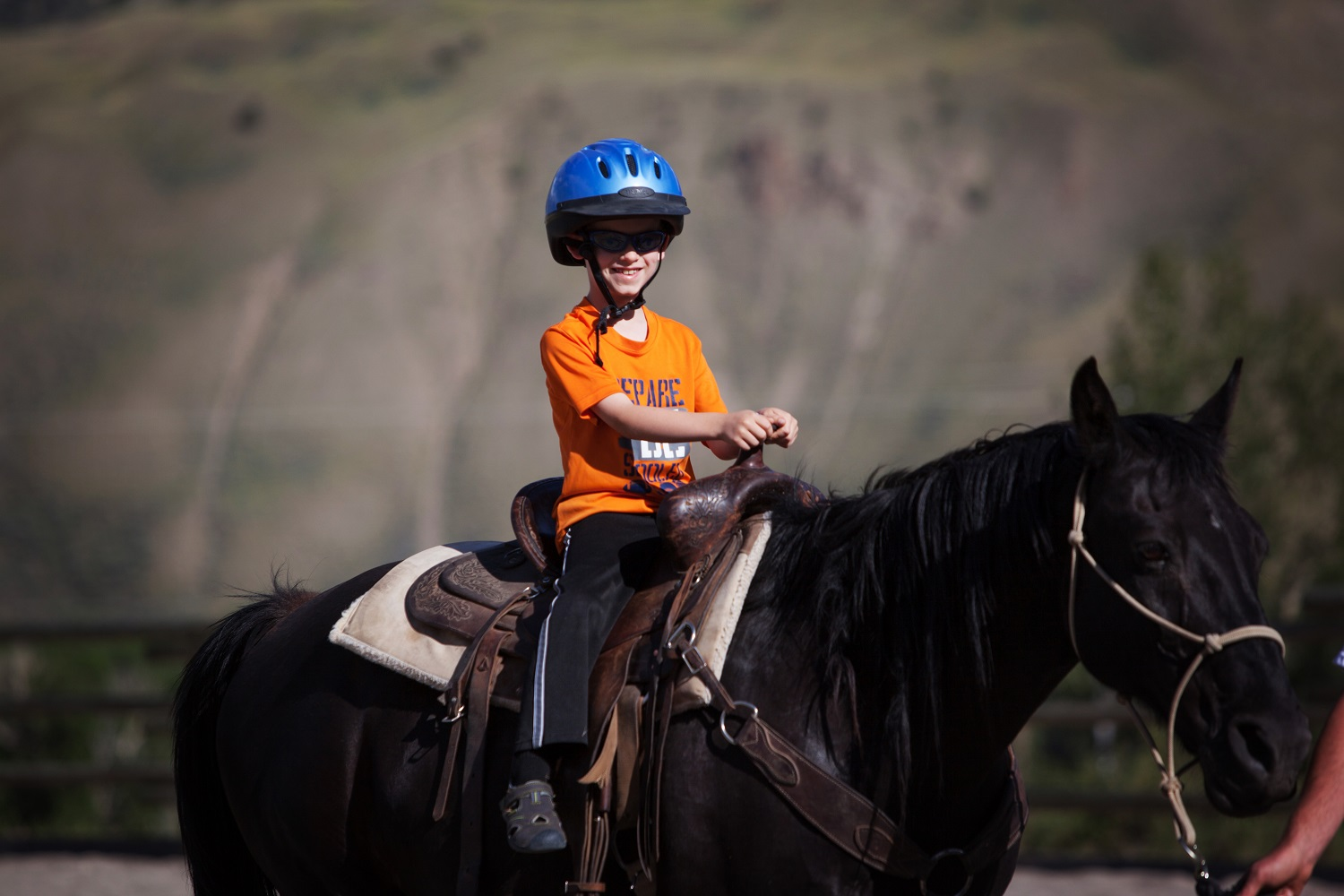 the program - To help ensure a comfortable and safe ride, horses are selected to match each rider's ability and experience level. We offer riding lessons in the arena, and 1 hour, 2 hour, and 4 hour rides on the trail.
