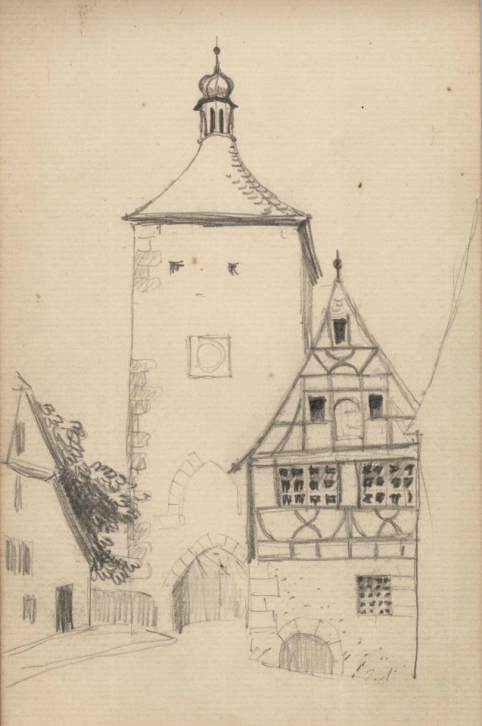 Siebers Tower, Rothenburg, A.S.