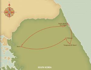Gangwon-Do Tour Route