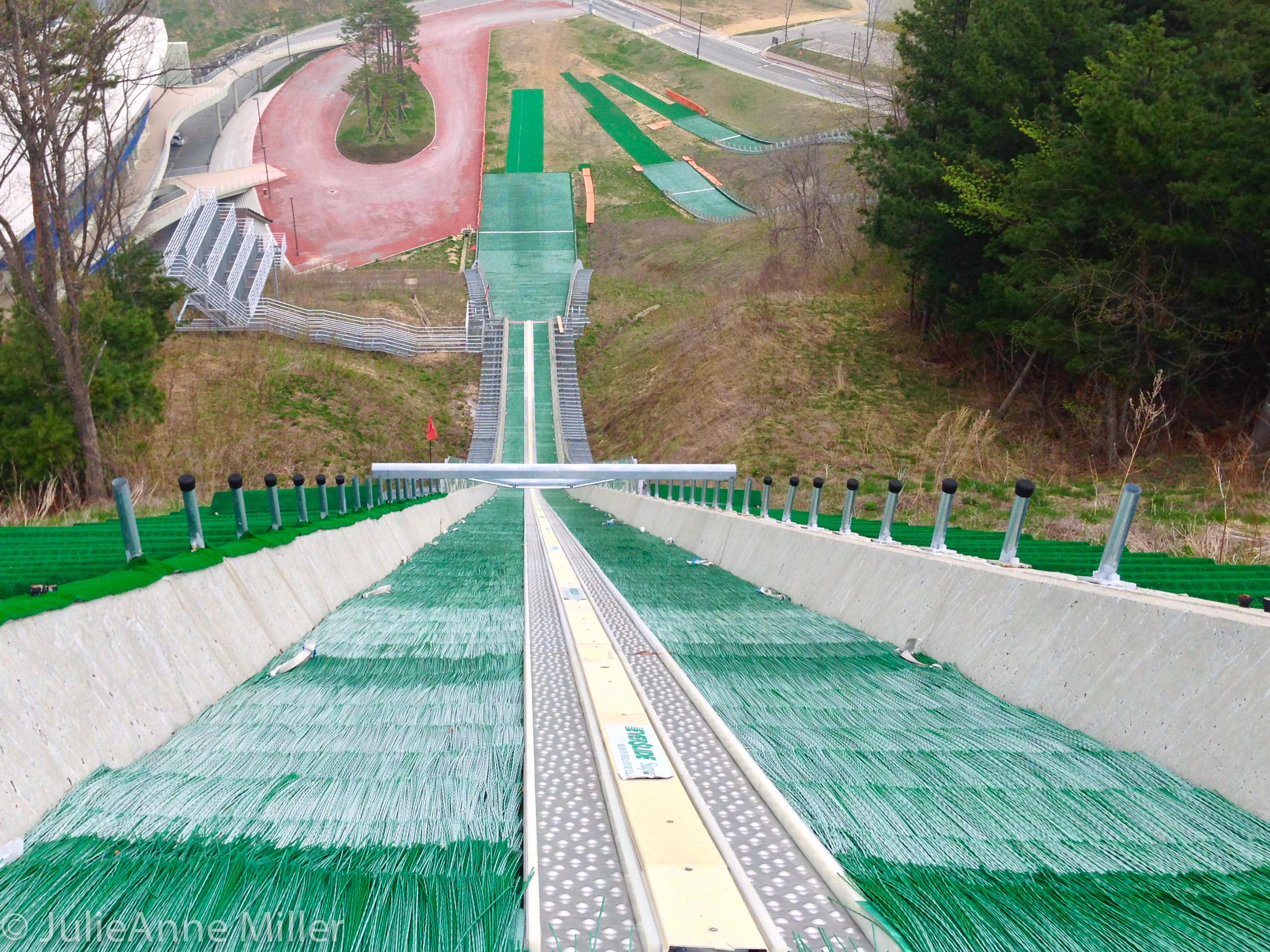 Ski jump at Alpensia