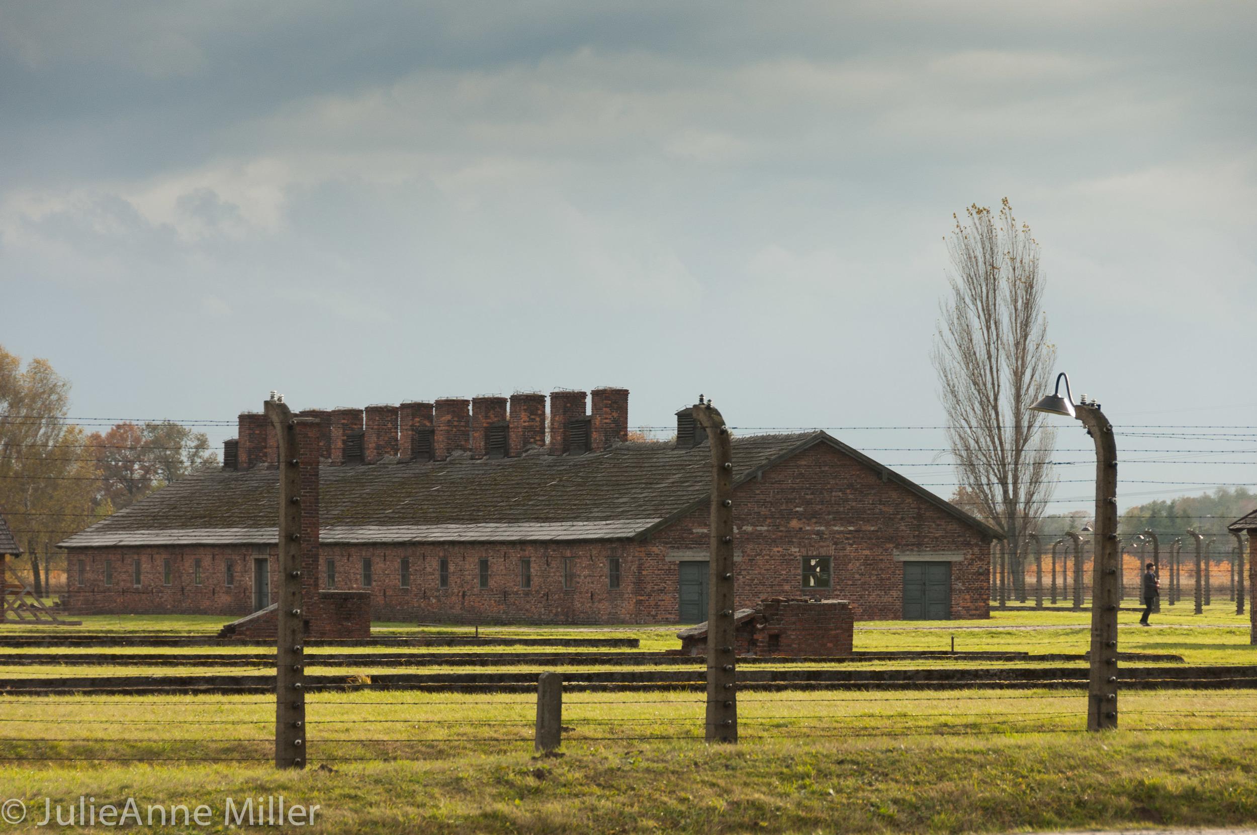Birkenau prison quarters