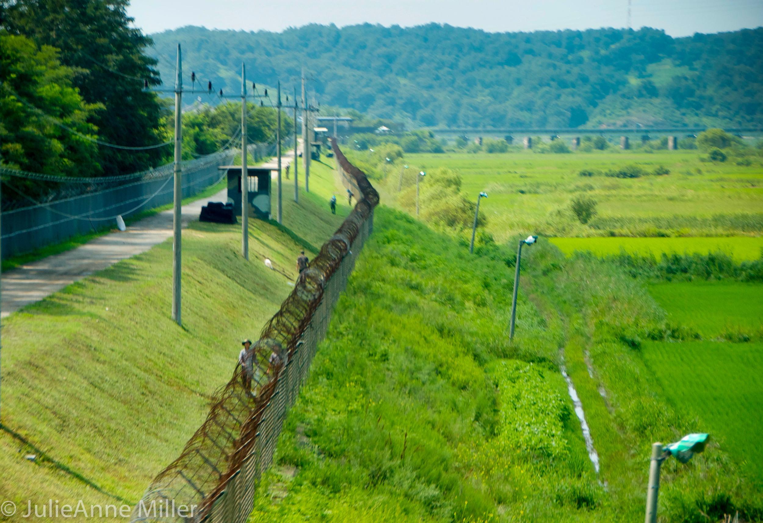 Imjingak border security, DMZ, Korea