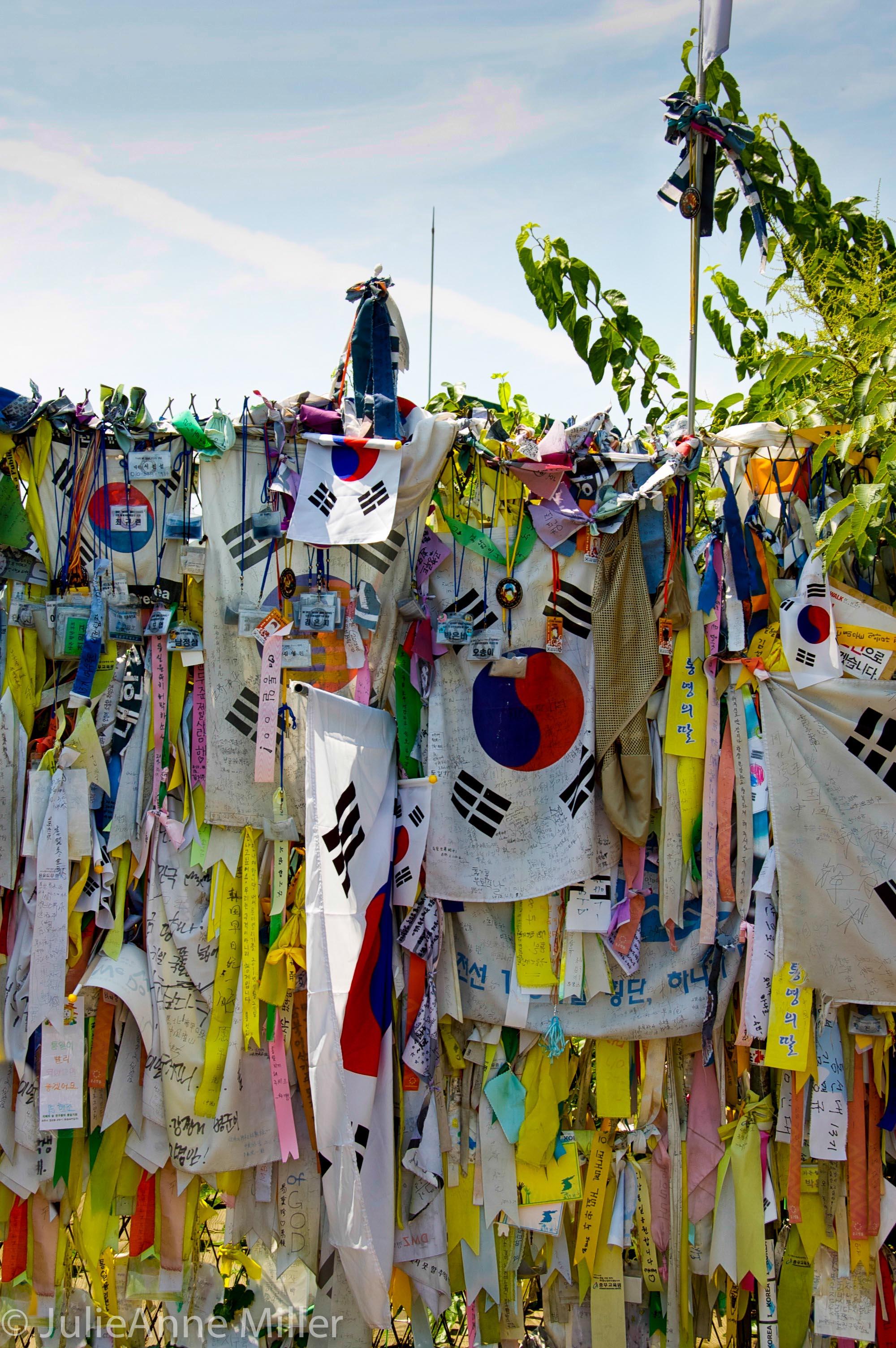 Memorial near Imjingak River, DMZ, Korea