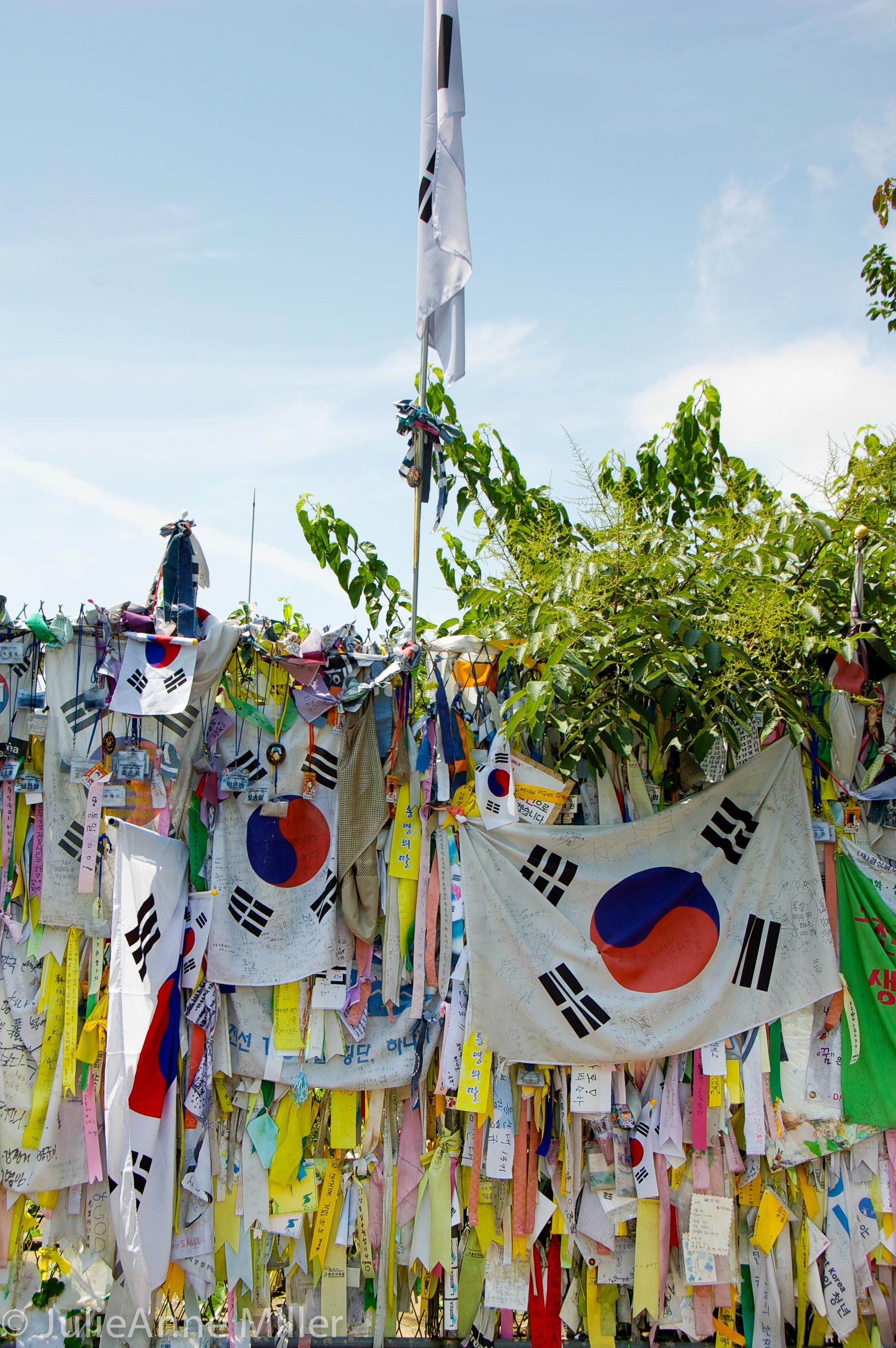 Memorial near Imjin River, DMZ, Korea