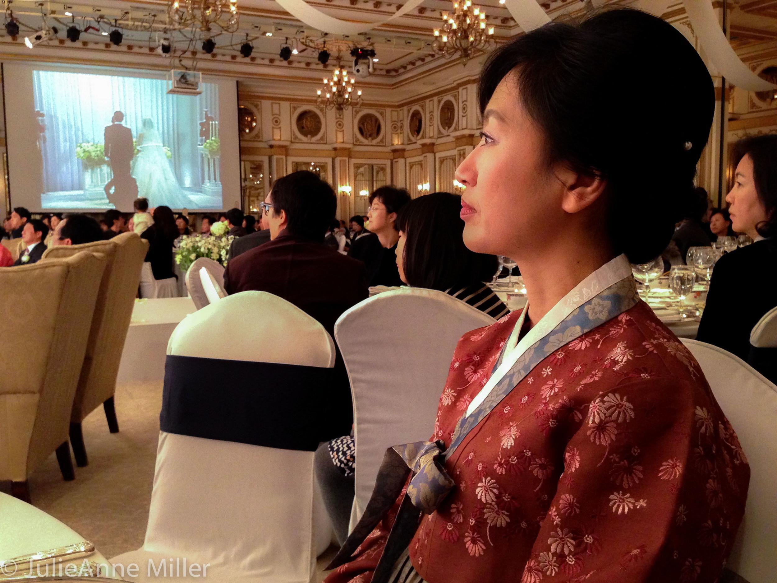 Aunt in Hanbok