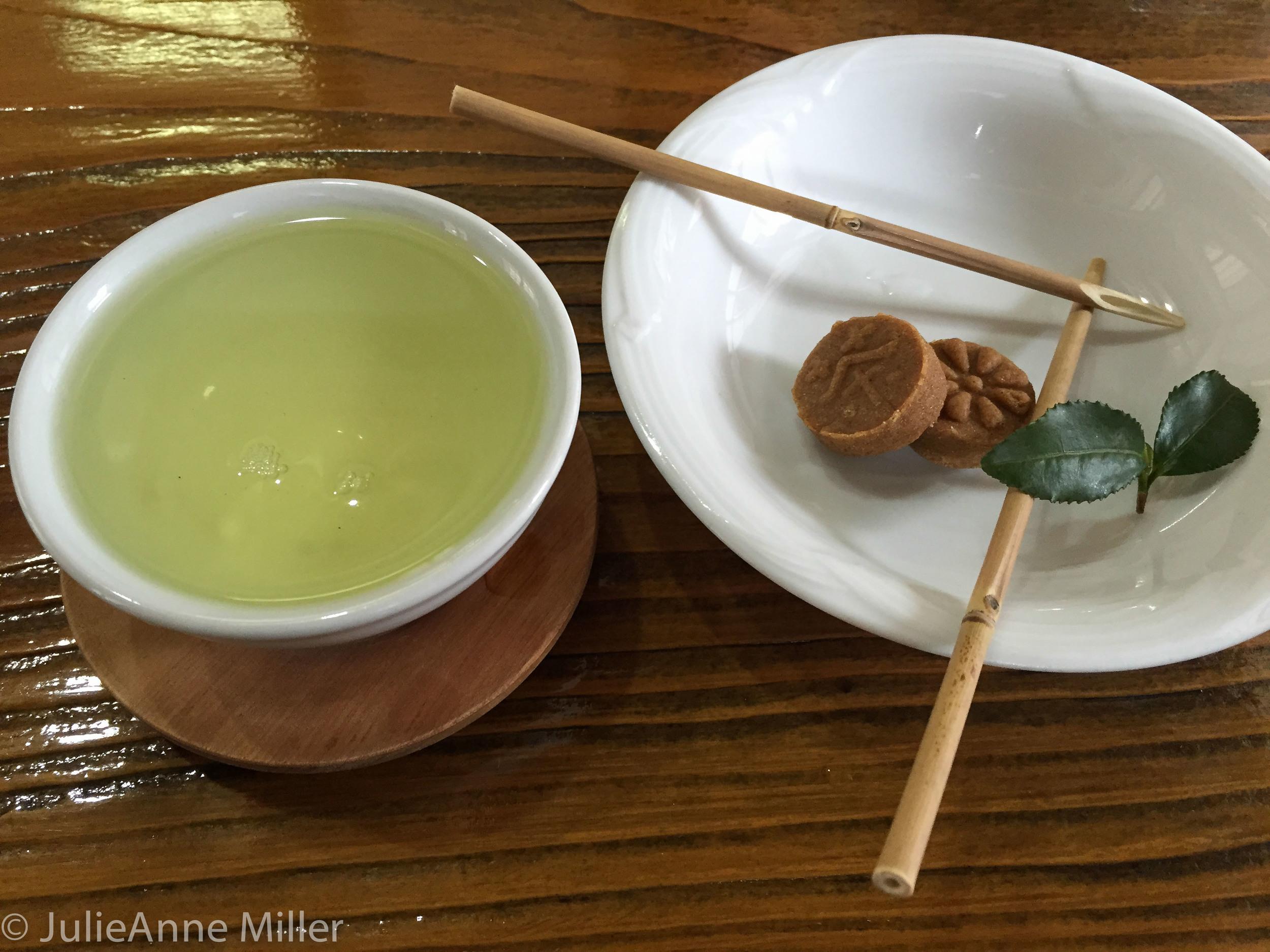 tea and honey cookie, South Korea