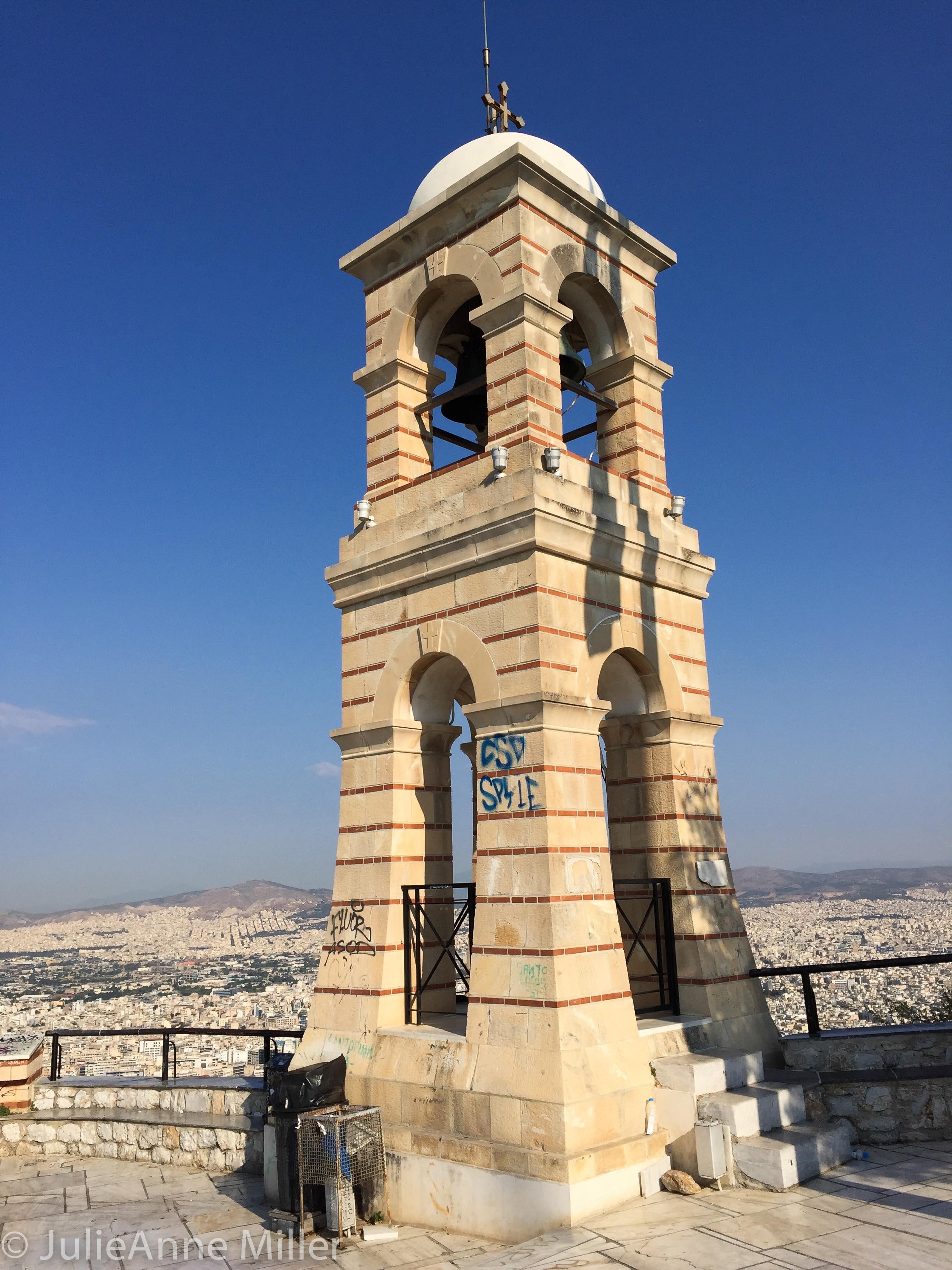 top of Mt. Lycabettus