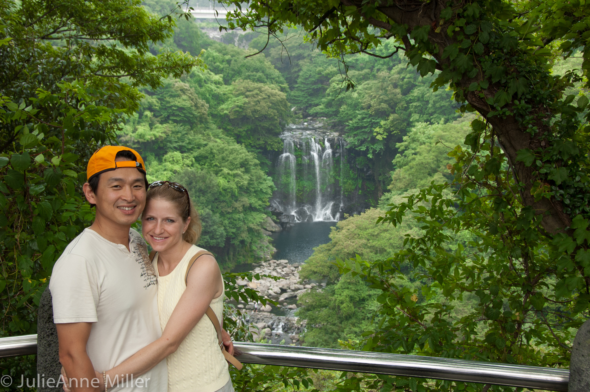 Every couple visiting jeju has this photo. :-)