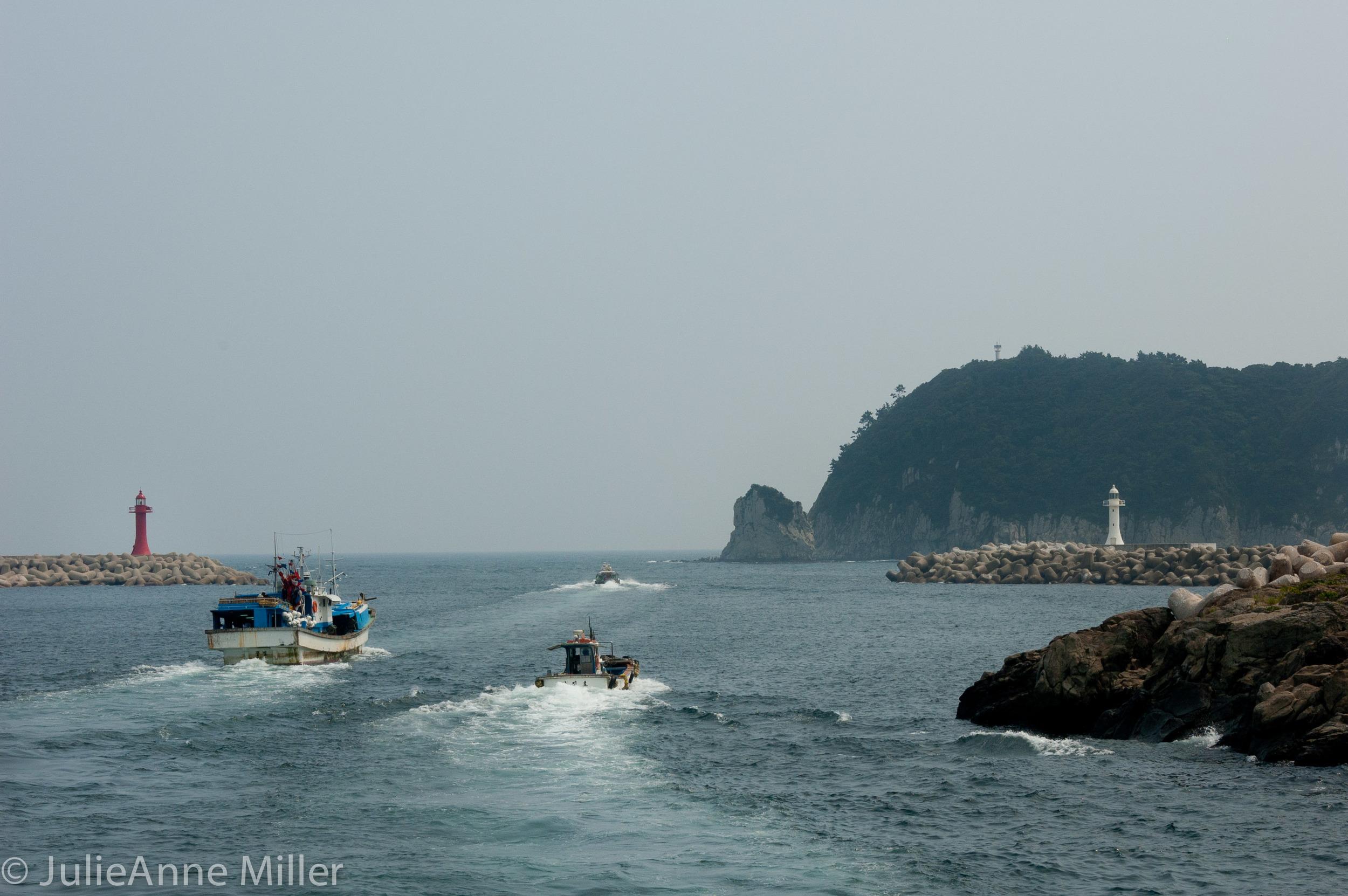 Cruising East Sea
