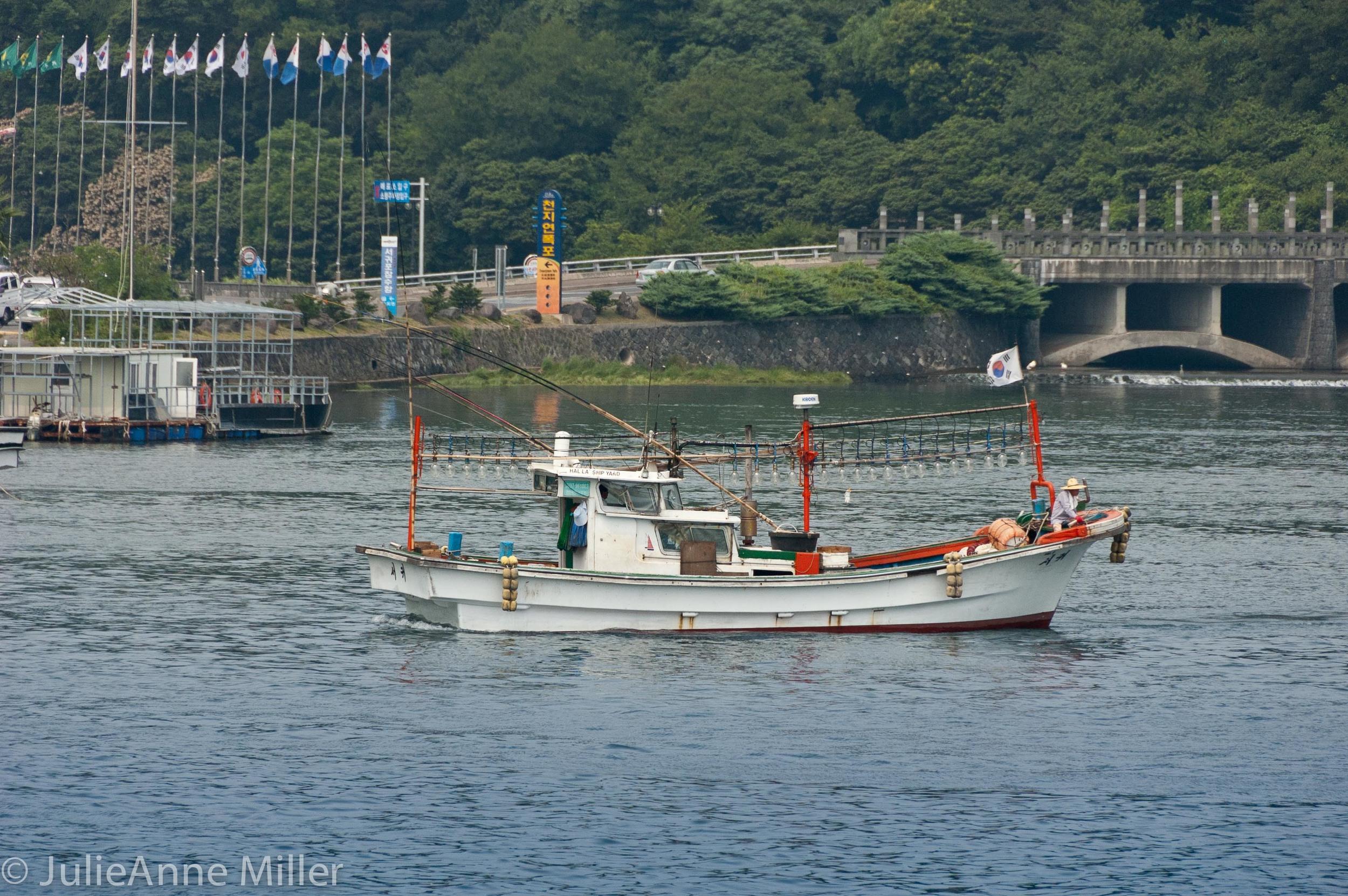 Jeju by boat