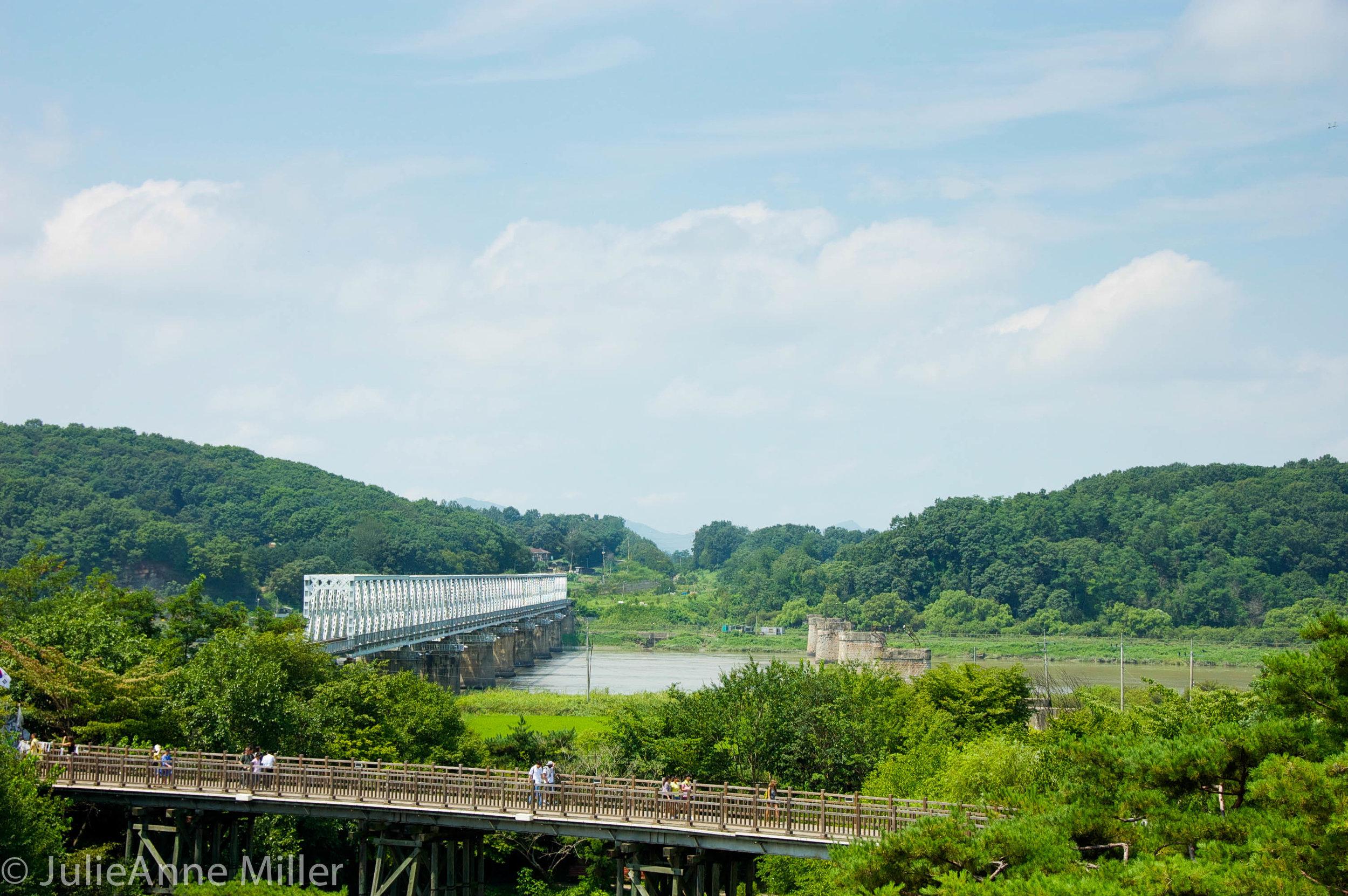 Bridge of No return, dmz, korea