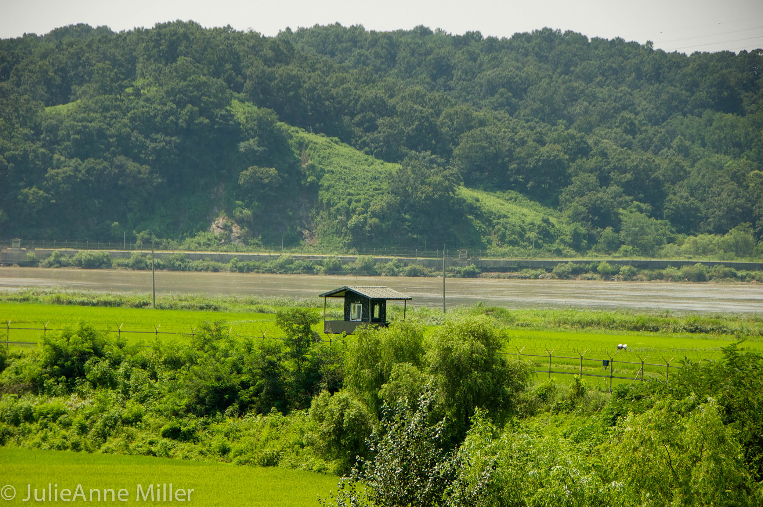 border security near DMZ