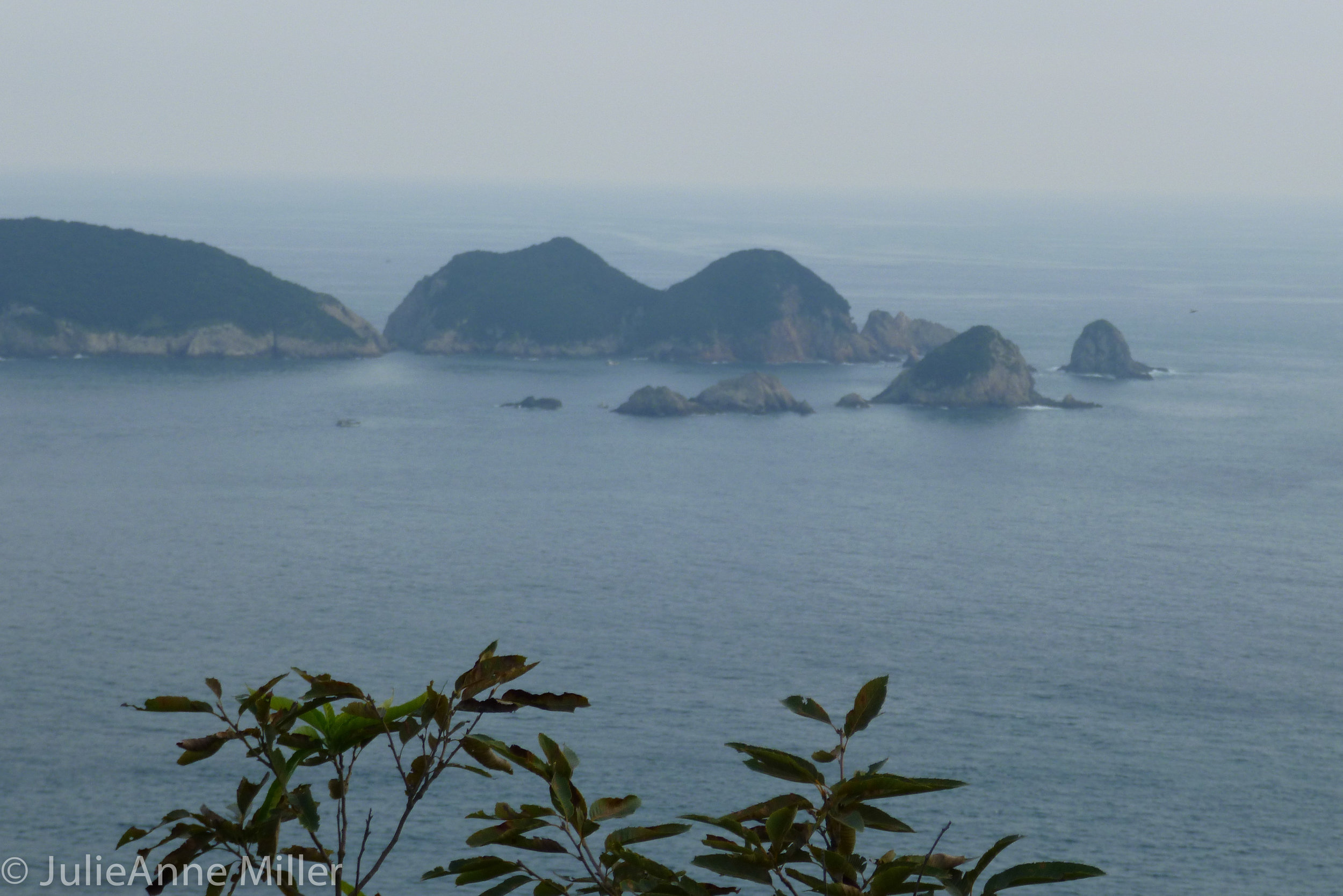 Southern coast of Korea