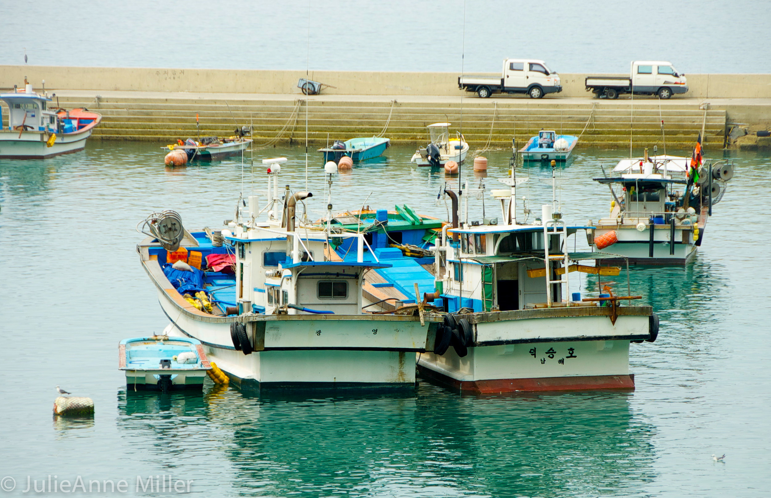 fishing boats, Namhae 남해