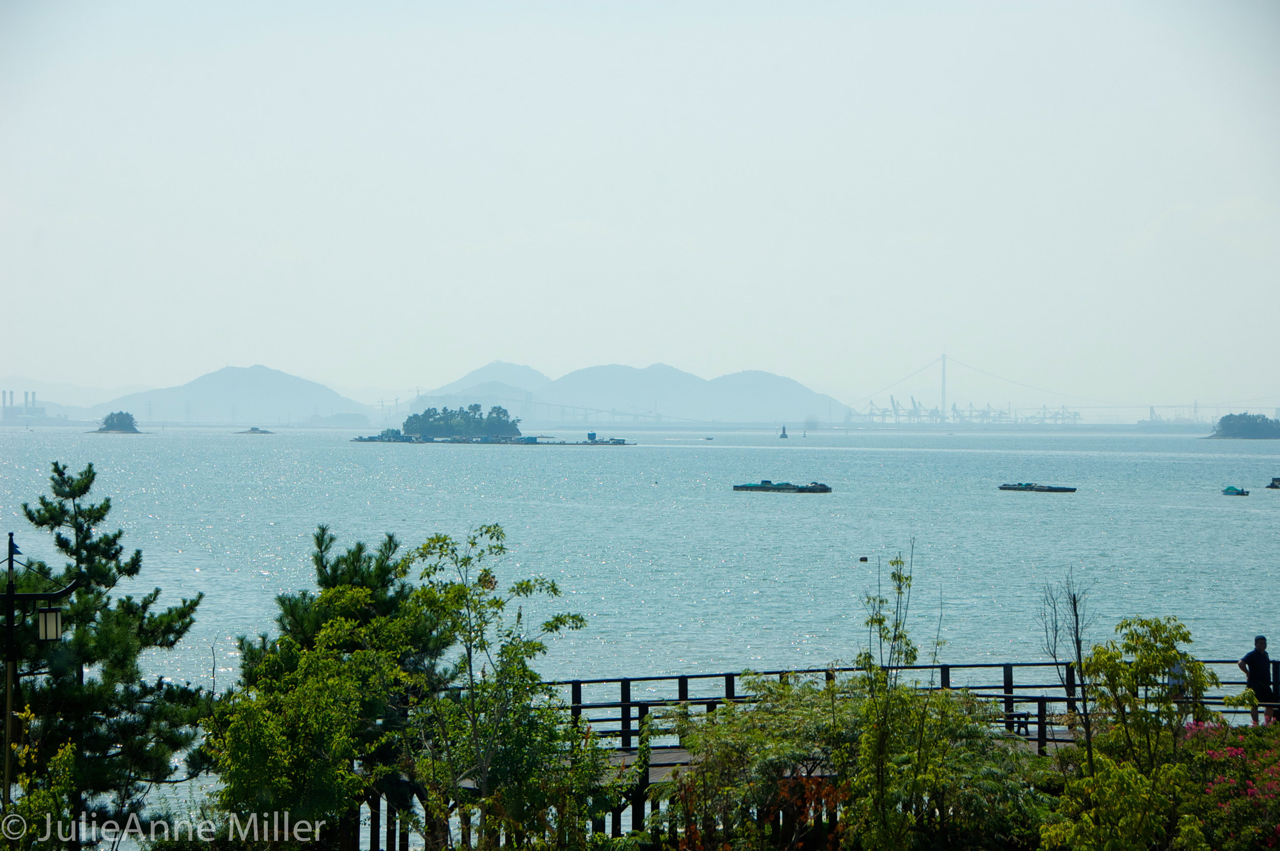 South Korean coast, Yi Su Shin museum