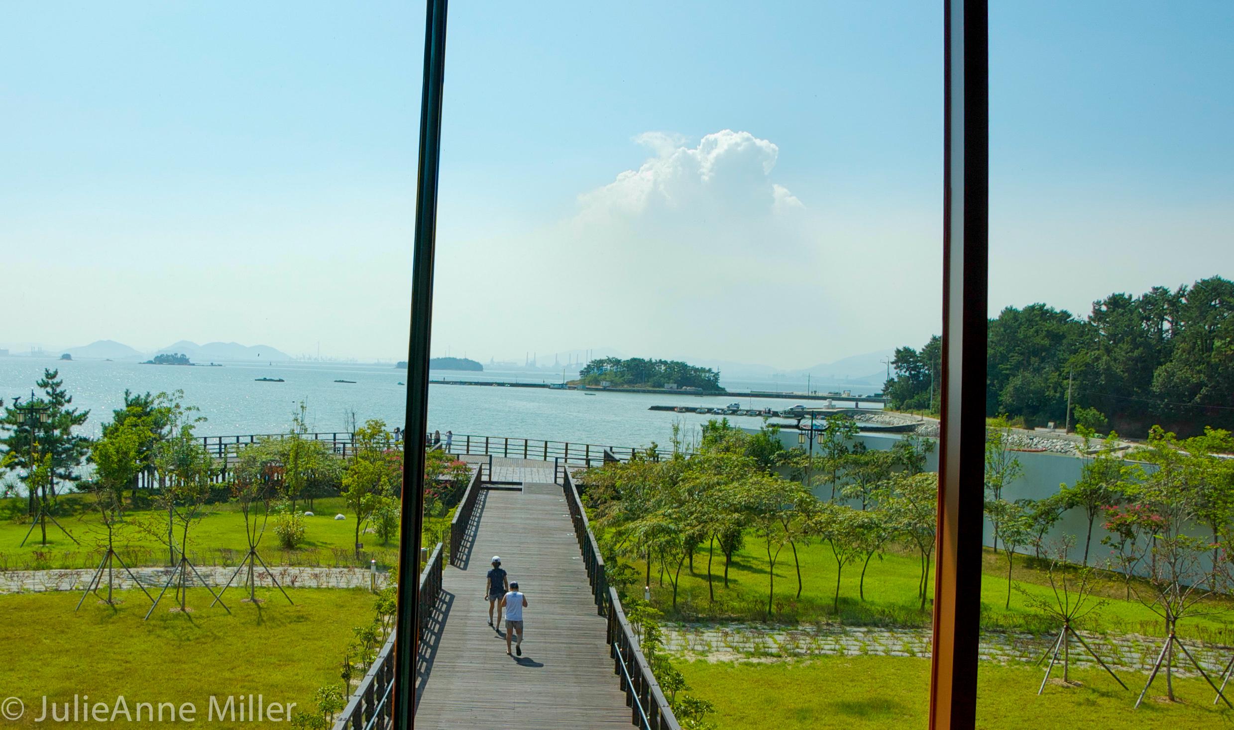 Yi Su Shin museum, Hallyeohaesang National Park