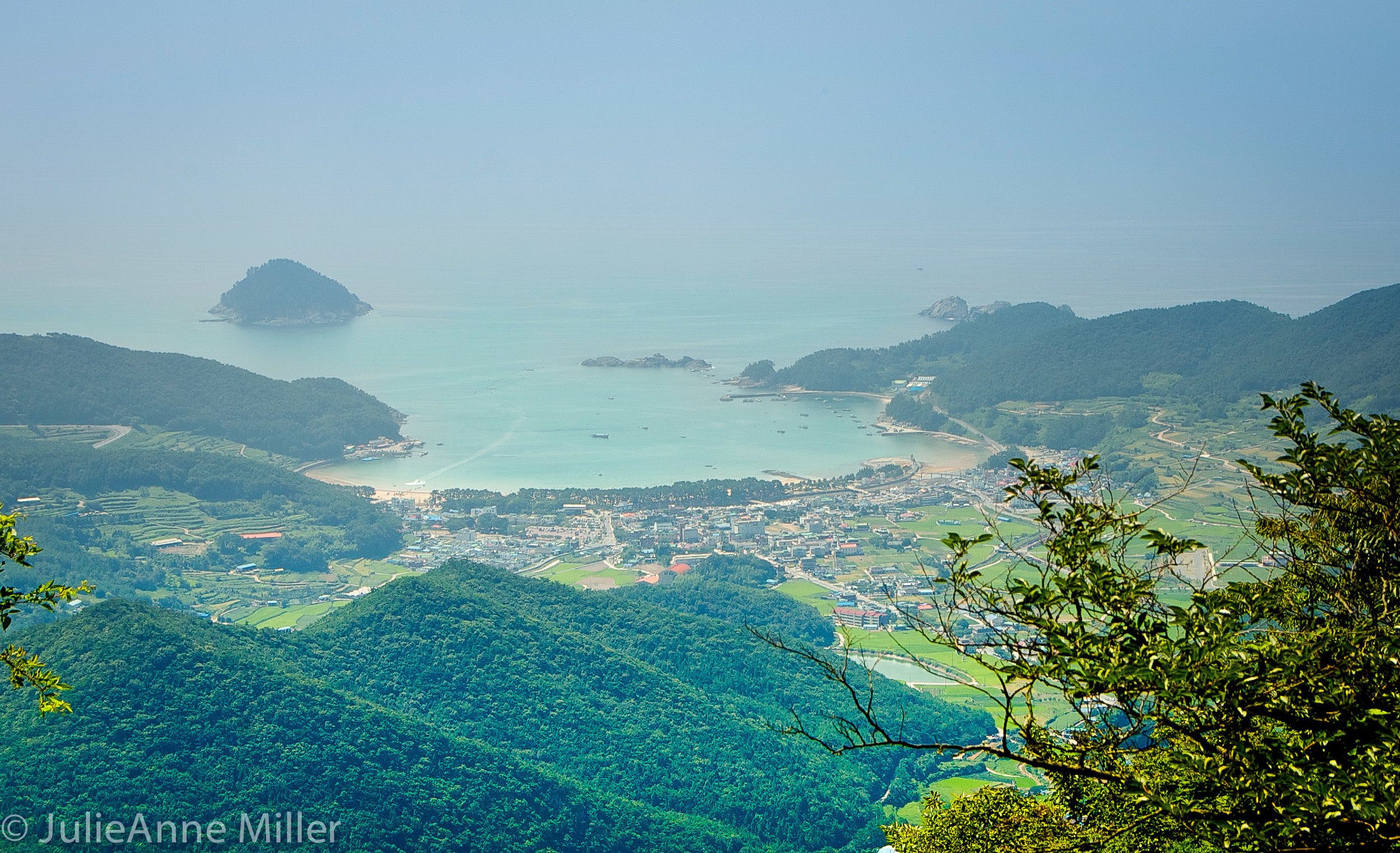 bay in southern Korea