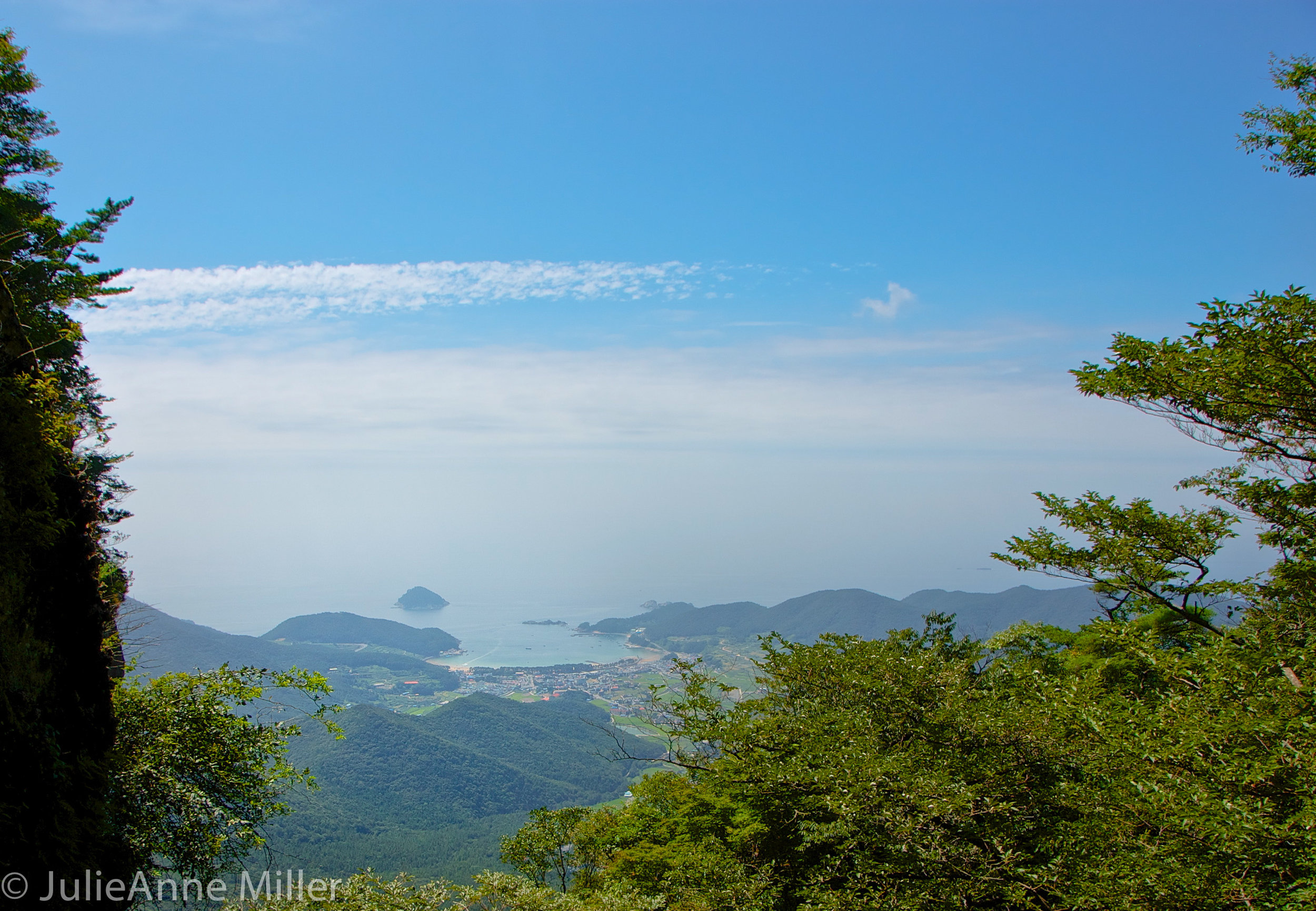 gorgeous view Hallyeohaesang South Korea