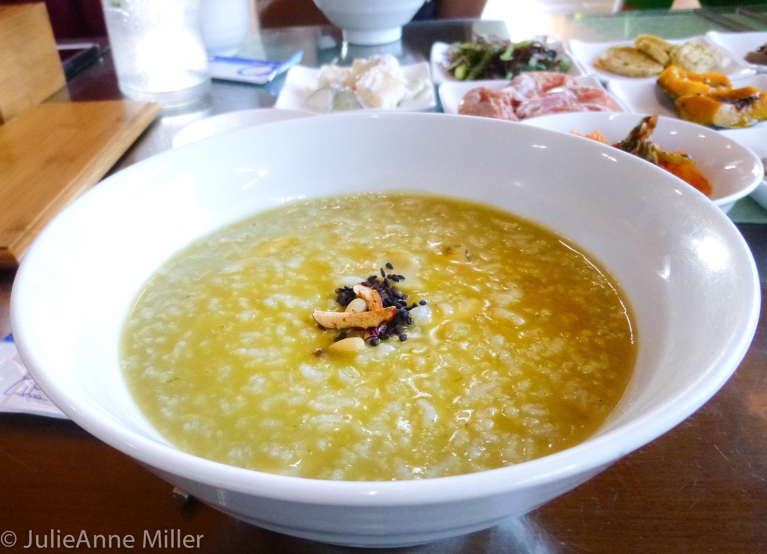 abalone porridge 전복죽
