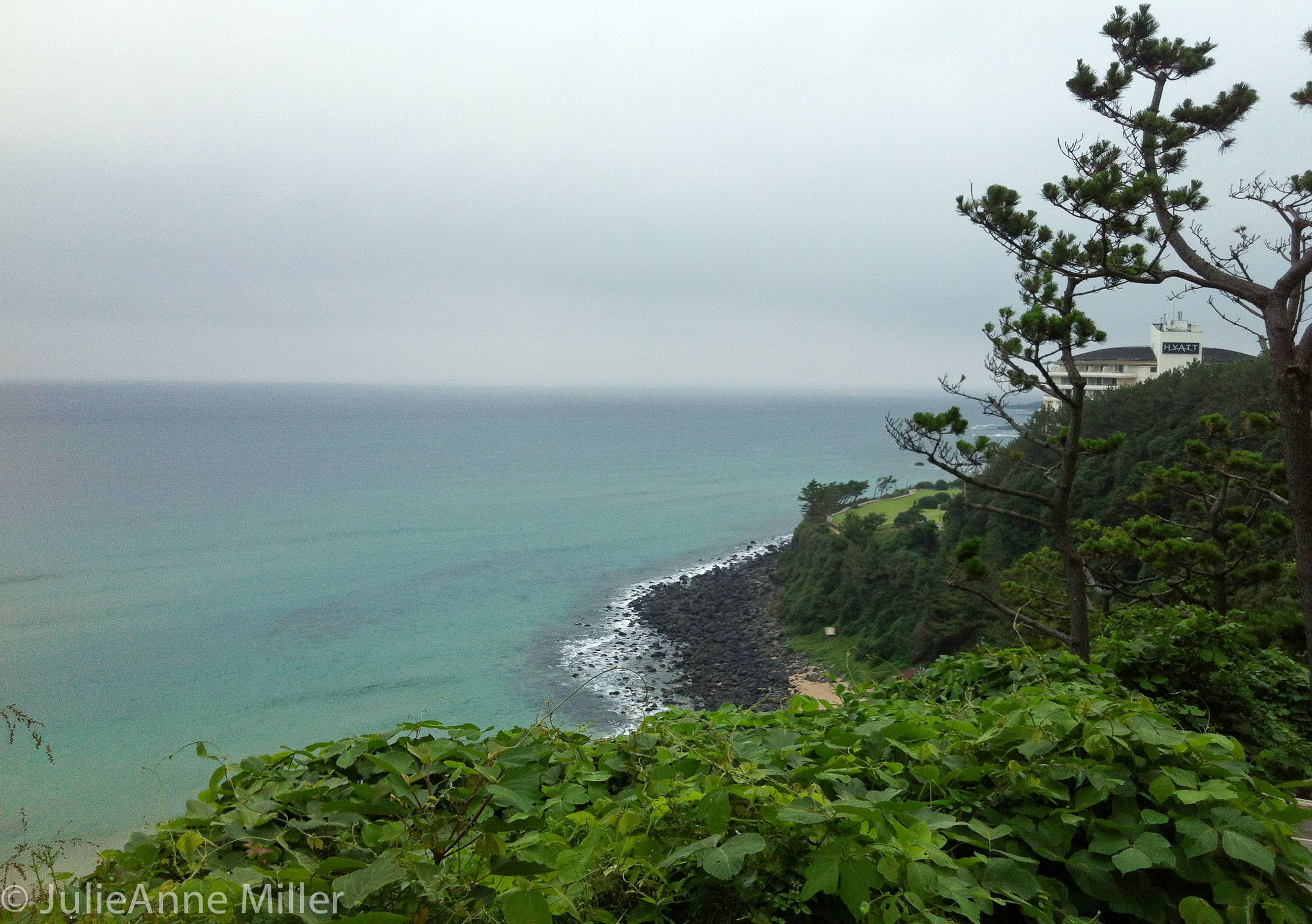 Seogwipo Jeju Island Jungmun resort area (중문관광단지)