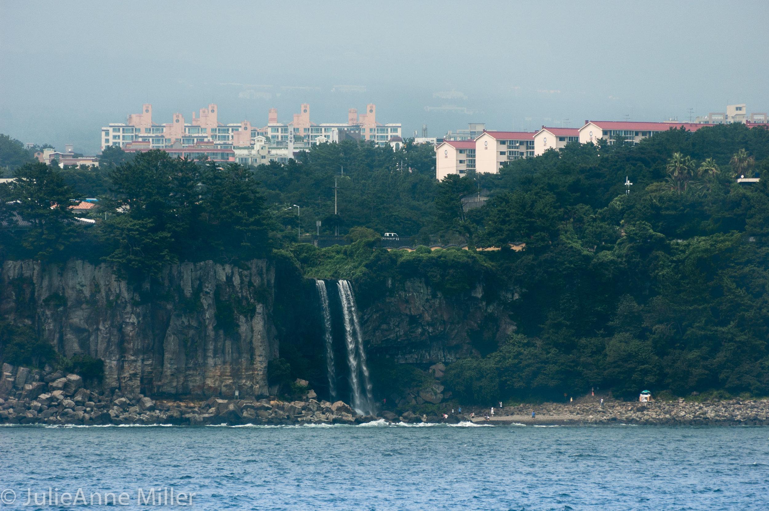 Jeongbang Falls, Jeju Island, Seogwipo