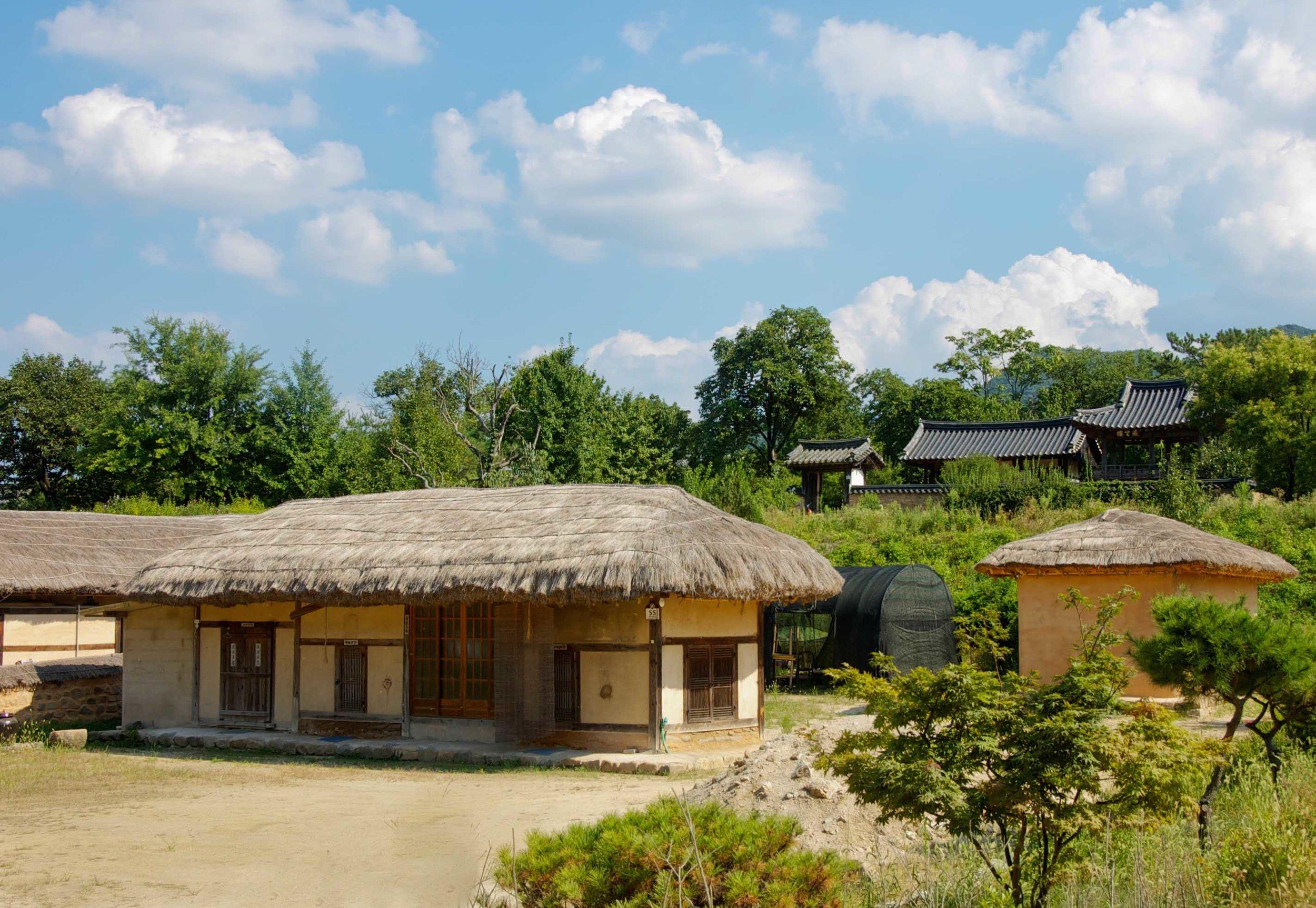 Hahoe Village (하회 마을) UNESCO site, South Korea