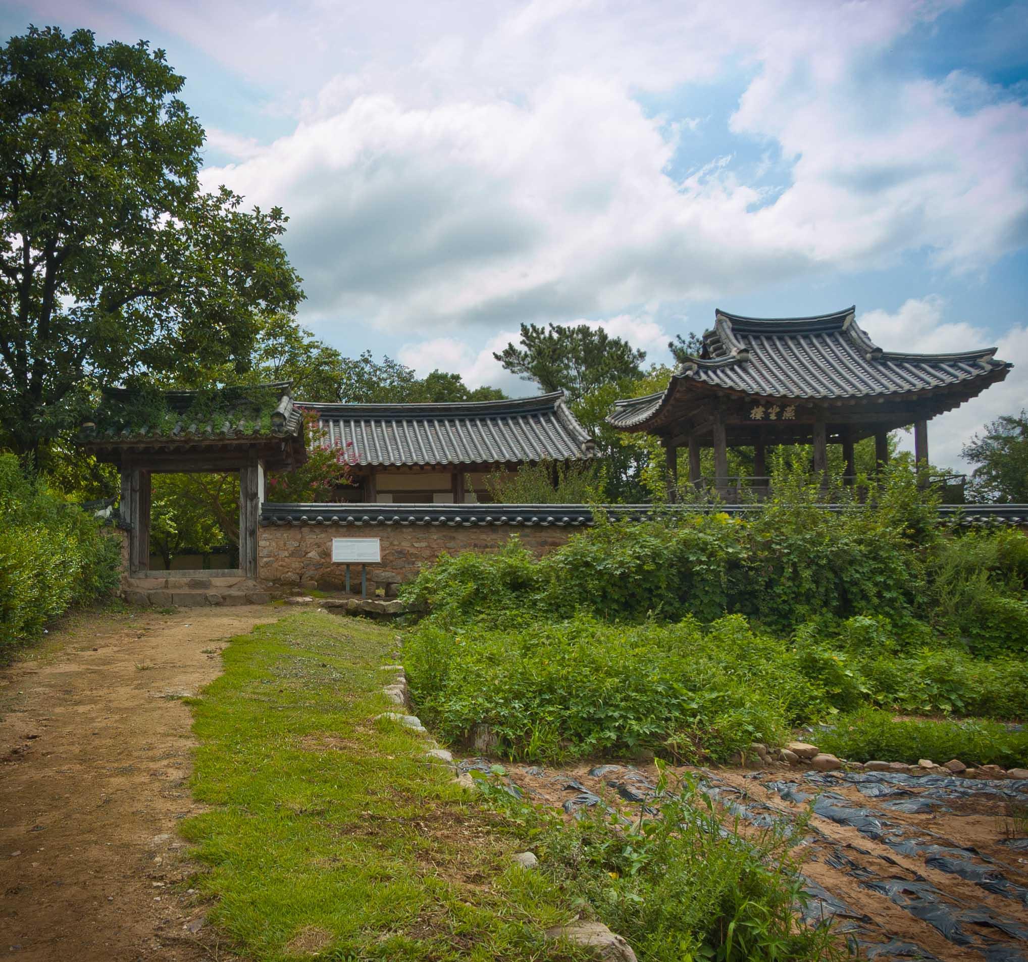 Andong, Korea, Hahoe Village