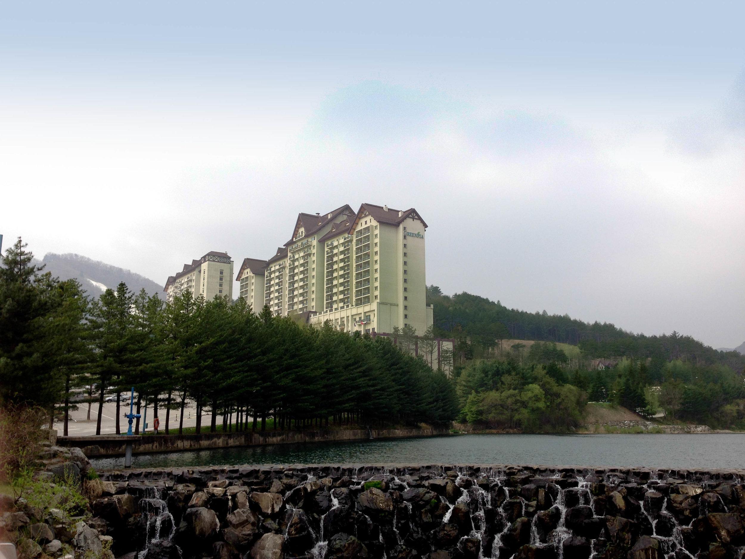 Greenpia Resort at YongPyong in PeyongChang