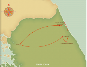 Pyeongchang, ganwon province, korea