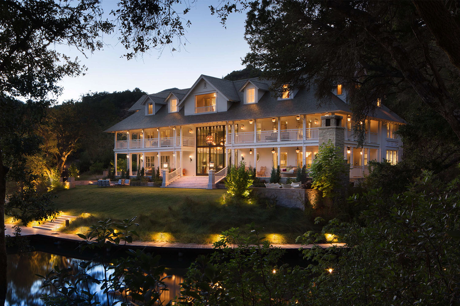 Wine Country Lake House