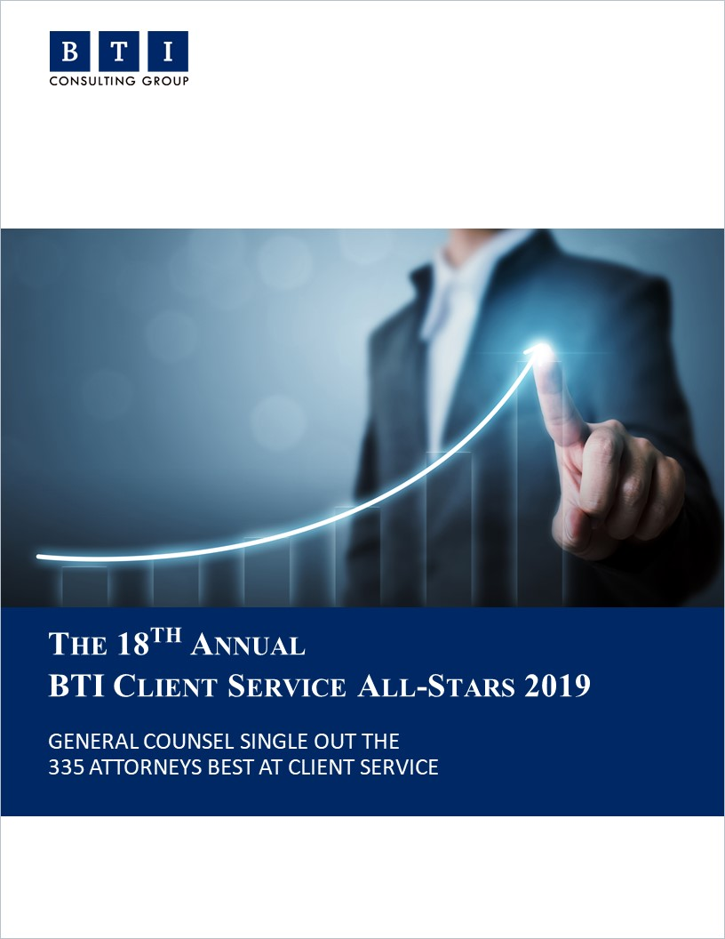 download bti's annual report of client service all-stars