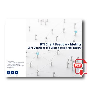 BTI Client FeedbackMetrics -
