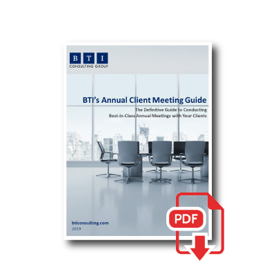BTI Annual Client Meeting Guide -