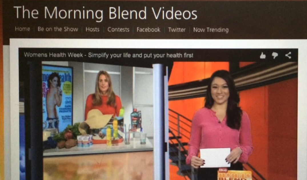 Click  here  for full segment on morning blend, CBS