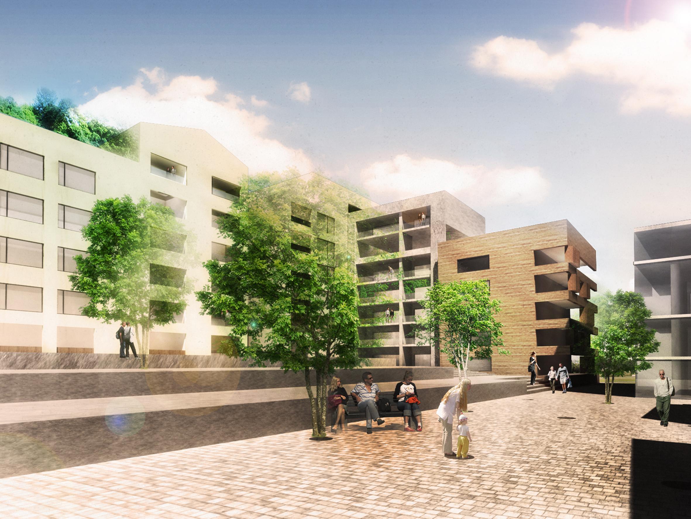 Çiftehavuzlar Mahallesi Kentsel Yenileme Konsept Projesi