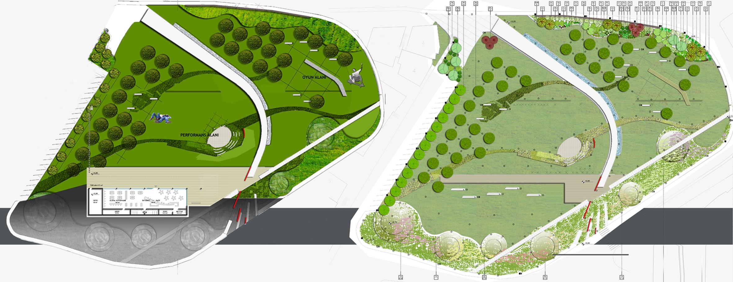 Trabzon Belediyesi Kalkınma Mahallesi Parkı Yarışma Projesi