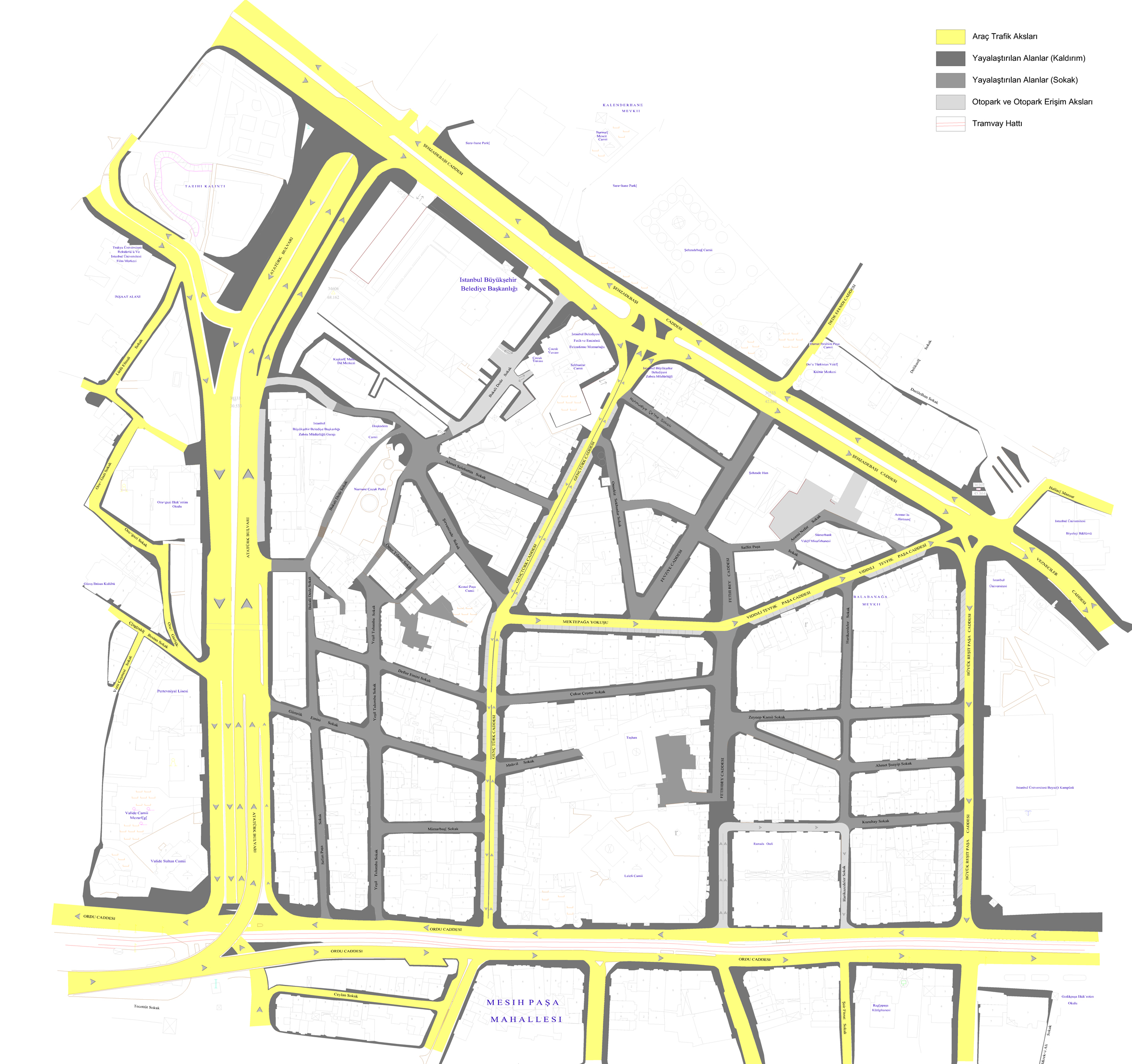 İstanbul 2010 Avrupa Kültür Başkenti Ajansı - Üst Laleli Bölgesi Cadde ve Sokak İyileştirme Projesi